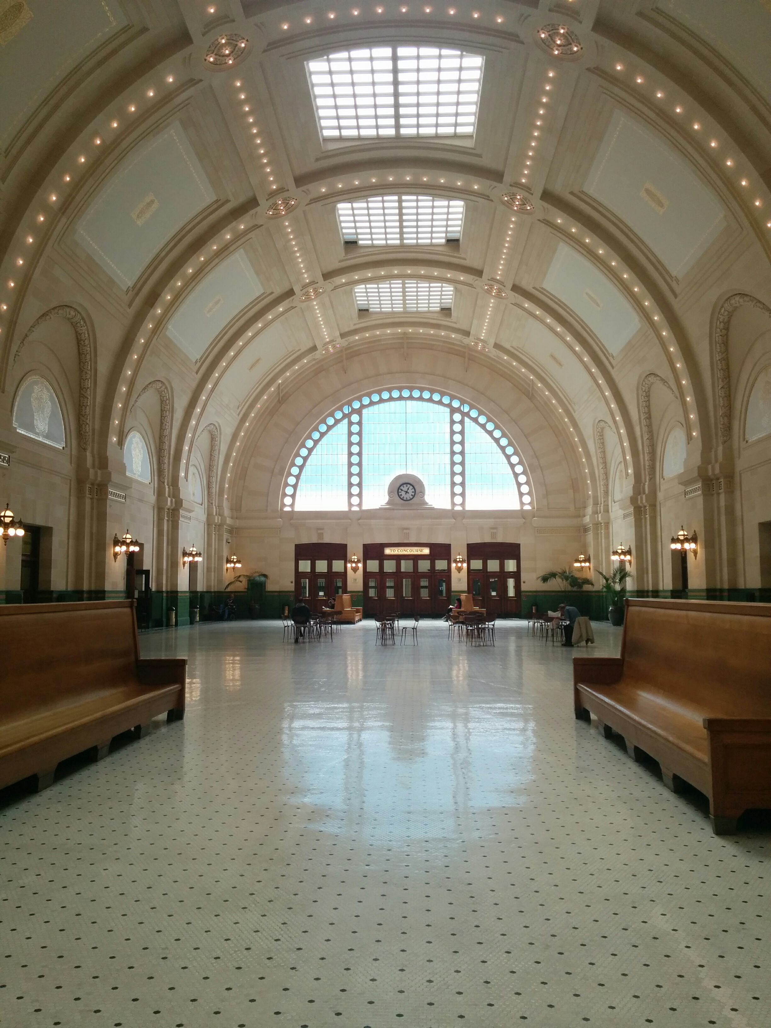 Main hall of Seattle Union Station